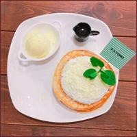 ホワイトチョコパンケーキ