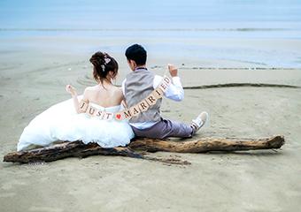 結婚式はリゾートウエディング・スタイルで遠方で挙げたい方