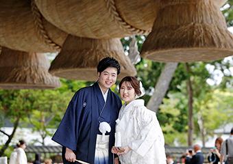 結婚式を挙げるなら出雲大社で、と決めている島根ご出身の方