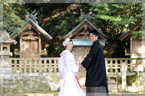 神聖で厳かな出雲大社の結婚式