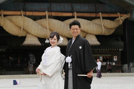 出雲大社結婚式の様子