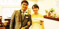 S&R WEDDING!感動のチャペル挙式